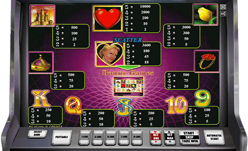 бесплатный игровой автомат королева сердец